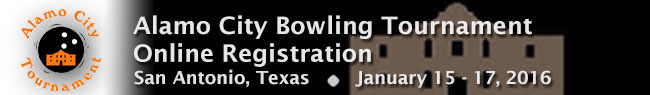 Alamo City 2016 Bowling Tournament